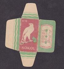 Etiquette de lame de rasoir  Tchécoslovaquie  BN18295 Aigle 2