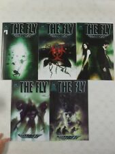 The FLY OUTBREAK #1 2 3 4 5 Comic SET ~ 1st Print ~ HORROR MOVIE SEQUEL ~ IDW