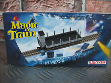 B54 FLEISCHMANN MAGIC TRAIN 2442 0e Rungenwagen avec guérite RARE