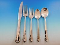 Engagement by Oneida Sterling Silver Flatware Set for 6 Service 34 Pieces