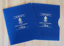 21151/ Jersey 1988 - Jahrbuch - The Special Stamps of 1988 - TOPP ZUSTAND