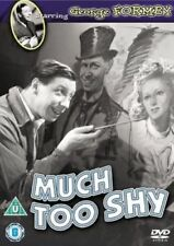 Much Too Shy Dvd George Formby Brand New & Factory Sealed