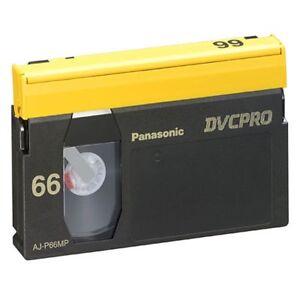 Panasonic DVCPro - AJ-P66M (Lot of 10)