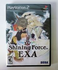 SHINING FORCE EXA *VERY RARE* PLAYSTATION 2 GAME *NEW* AUS EXPRESS