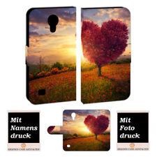 Samsung Galaxy S4 mini Personalisierte Handyhülle mit Foto Bild Druck Herzbaum