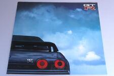 NISSAN SKYLINE GT-R R32 1990 Japanese Brochure gtr Prospekt BNR32