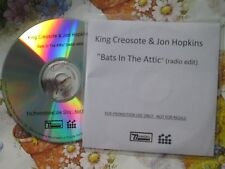 King Creosote And Jon Hopkins Bats In The Attic DOMINO  CDr UK Promo CD Single