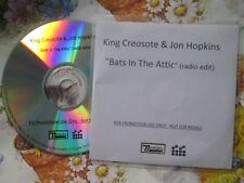 King Creosote And Jon Hopkins Bats In The Attic DOMINO  CDr UK Promo CD Single