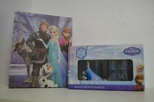 Disney Frozen canvas art features 5 characters +Two new Mason Jars With Handles