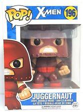 Funko Pop Juggernaut # 196 X-Men Vinyl Bobble Head Figure Damaged Box