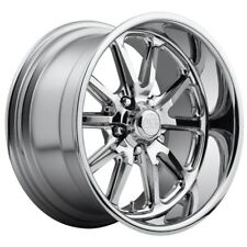 17x8 Us Mag Rambler U110 5x4.75 et1 Chrome Wheels (Set of 4)