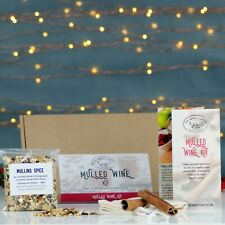 Mulled Wine Kit For Cider, Wine, Cocktails and baking. Recipes. Christmas gifts