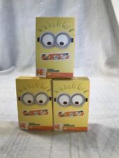 Despicable Me Band Aids Flexible Adhesive Bandages 3 Pkgs 20ct ea 3/4 x 3in