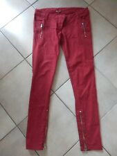 IRO - JEANS skinny - Size 40fr - red - AUTHENTIC