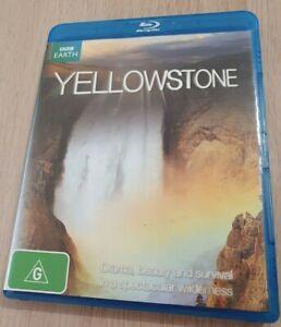 LIKE NEW - BBC Earth Yellowstone Blu ray 2009 Region B