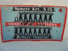 Vintage Cards Newys Art Imperial Hooks and Eyes ,Lg. Size