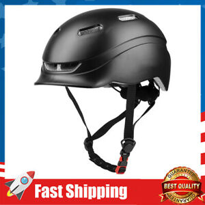 Bike Helmets w/ USB Light for Bicycle Cycling Helmet Adjustable 21.65-24.41inchs