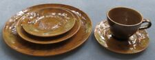 Red Wing Pottery Kashmir 5 Piece Place Setting Dinnerware Mid Century Modern