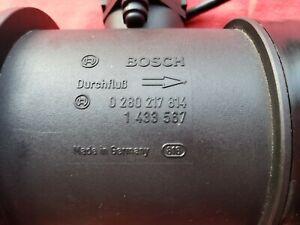 1998 BMW 740iL MASS AIR FLOW SENSOR 0280217814