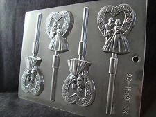 Bride and Groom Lolly Chocolate Mould CK Products Free 1st class post