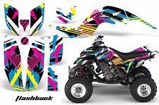 AMR Racing Yamaha Raptor660 Graphic Kit Wrap Quad Decals ATV 2001-2005 FLASHBACK
