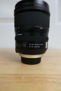 Tamron SP 24-70mm f/2.8 Di VC USD G2 Lens for Nikon