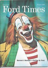 Ford Times Aug/69 August 1969 Jane Wyatt Bennett TV's Father Knows Best News