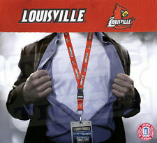 Louisville Cardinals NCAA Lanyard Key Chain & Ticket Holder Red