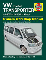 VW Transporter T5 2003-2015 Repair Manual