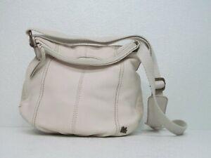 The Sak Deena Flap Crossbody Bag White Leather