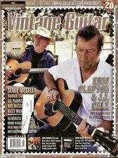 Vintage Guitar Magazine February 2007 Eric Clapton, J.J. Cale, Marshall 1962 JTM