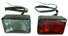 LAND ROVER DEFENDER 90/110 RECTANGULAR FOG AND REVERSE LAMPS LIGHTS LEP ENGLAND