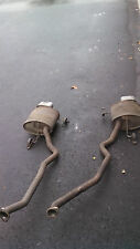 BMW OEM E53 X5 4.6IS 4.8IS LEFT RIGHT SPORT MUFFLERS EXHAUST CHROME TIP