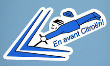 'En Avant Citroen!' stickers 2CV, DS, AMI, SM, Traction Avant, Dyane, Mehari