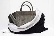 """LUXURIOUS REVERSIBLE BLACK/WHITE DUST BAG FITS YOUR CELINE 23.75""""x19.5""""  (LG/XL)"""