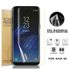 Full Coverage Screen Protector For Galaxy S8 Phone Imex TPU Cover Clear Film UK