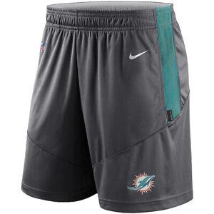 Brand New 2021 NFL Miami Dolphins Nike Sideline Performance Knit Shorts NWT MIA