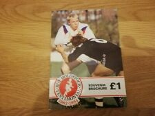 1983-84 Roy Holdstock Testiminoinal Brochure - Hull Kingston Rovers