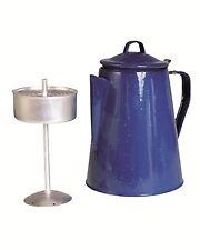 Kaffeekanne Email m.Percolator(8 Tassen), Outdoor, Camping, Military  -NEU-