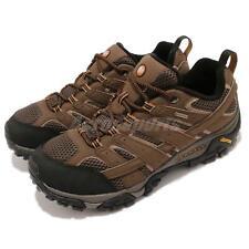 Merrell Moab 2 GTX Wide Gore-Tex Vibram Brown Black Men Outdoors Shoes J06041W