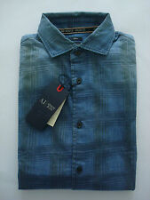 ARMANI Jeans Smart Casual Indigo Shirt - M - RRP £115 - Outstanding - BNWT