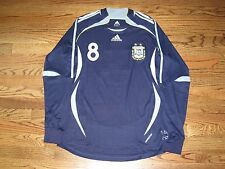 Riquelme Argentina Shirt Jersey Formotion Player Issue Match Un Worn LS