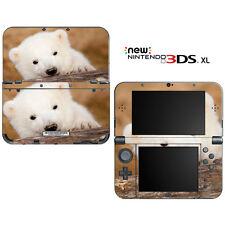 Cute Polar Bear Cub for New Nintendo 3DS XL Skin Decal Cover