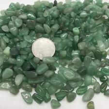 AVENTURINE Medium Green, med. tumbled bulk stones quartz 1000g 2.2lb