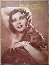 """Très rare """"Beauté Magaziné"""" n°14, printemps 1931"""