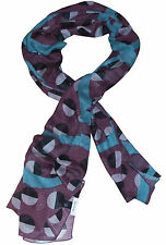 PAUL SMITH SPOTTED LIGHTWEIGHT VISCOSE SCARF BNWT VERY RARE made in Italy