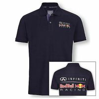 Polo Red Bull Racing pour Homme logo Infiniti - NEUF - Taille S ou L