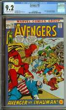AVENGERS #95 CGC 9.2 OW/WH PAGES