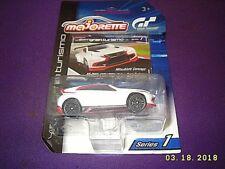 Majorette White Mitsubishi Concept 1:64 Vision Gran Turismo Diecast Series 1 NEW