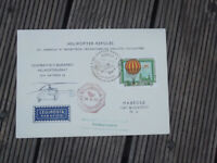 HUNGARY CARIED HELICOPTER MAIL COVER 1974 BUDAPEST